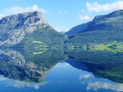 Campsites in Central Norway