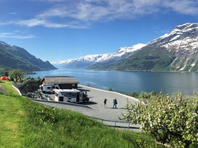 Campsites in Fjord Norway