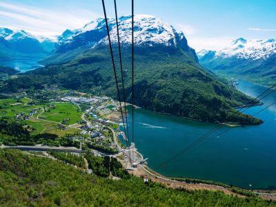 Loen Skylift, Via Ferrata Loen and a hike to Mount Skala
