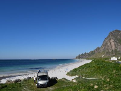 Campsites in Nordland (North), Lofoten and Vesteralen