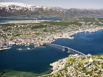 Tromso, the largest city in Northern Norway