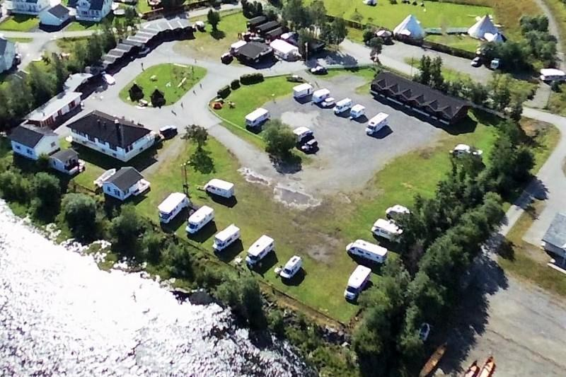 Alta River Camping ligging