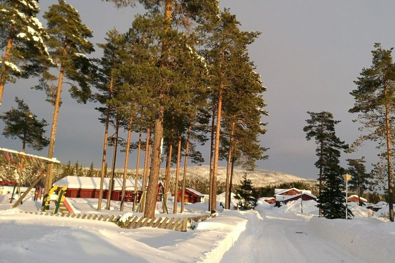 Bo Camping wintersport