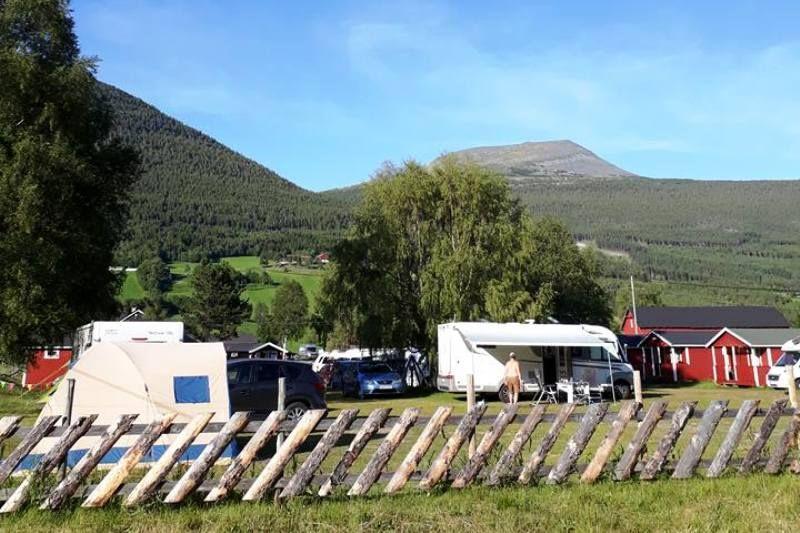 Dovreskogen Camping kampeerplaatsen