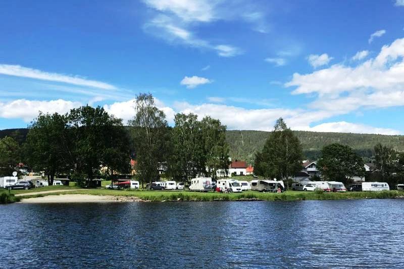 Drammen Camping kampeerplaatsen