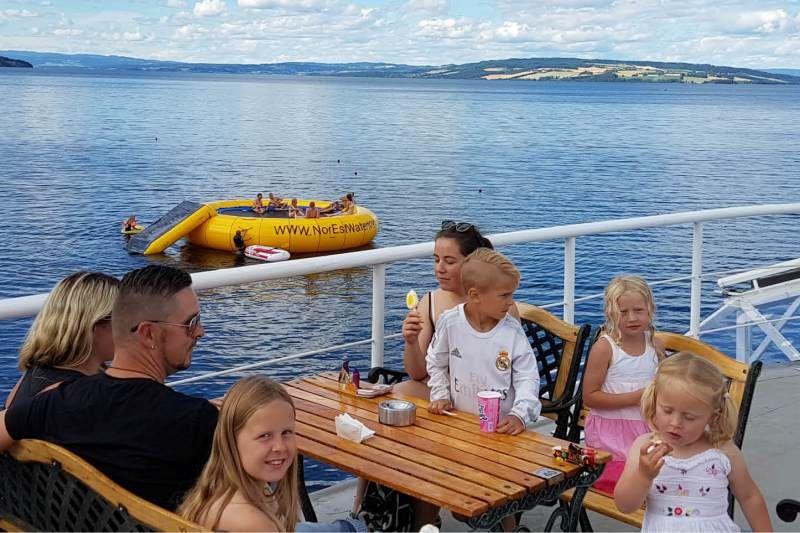 Evjua Camping Skreia restaurant Viken II