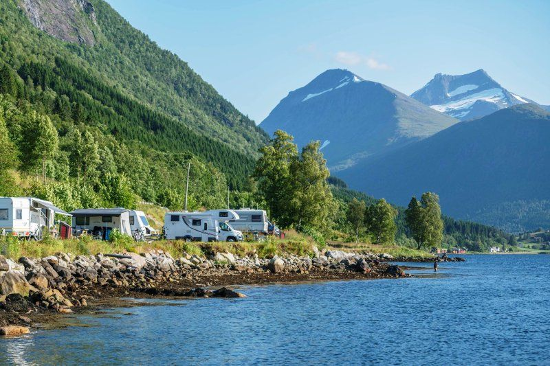 Fagervik Camping Kampeerplaatsen