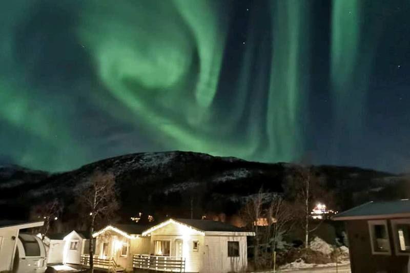 Fjordbotn Camping Noorderlicht