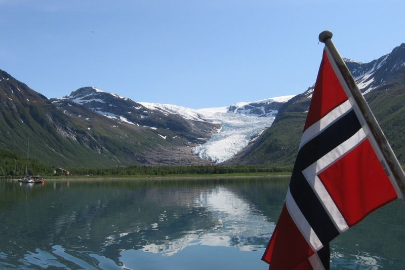 Furoy Camping Halsa bezoek Svartisen