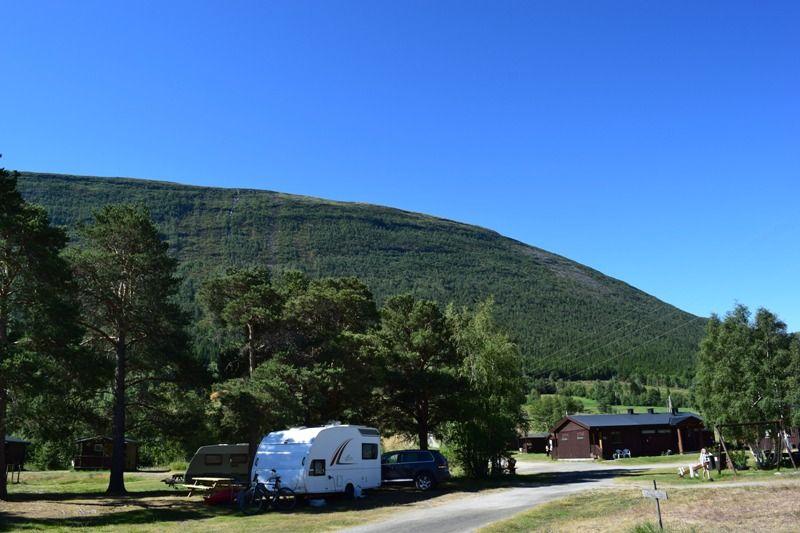 Mooie kampeerplaatsen op Gjeilo Camping