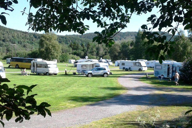 Guldbergaunet Camping Steinkjer Kampeerplaatsen