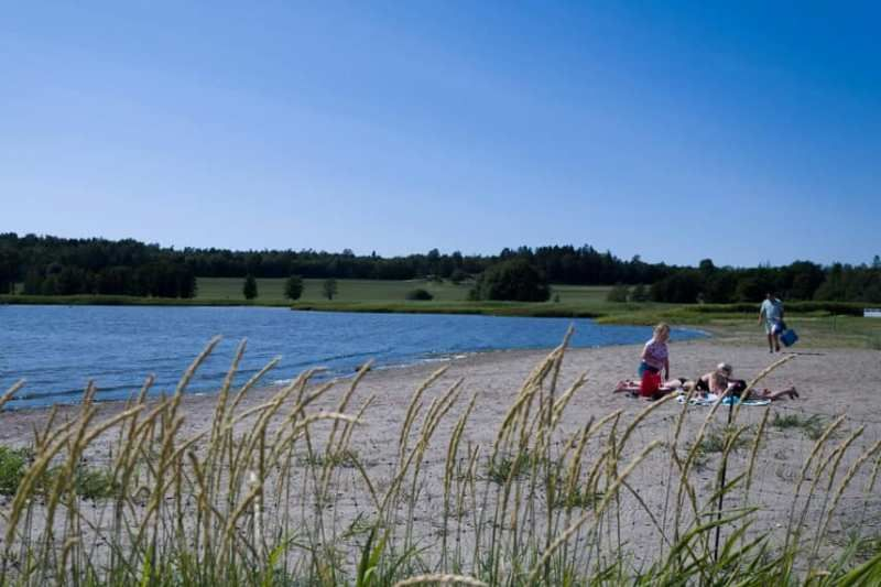 Guslandstranda Camping strand