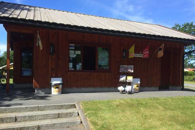 Guslandstranda Camping receptie