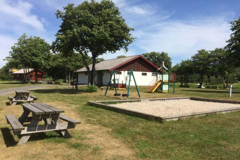 Guslandstranda Camping speeltuin