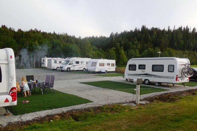 Halland Camping Kampeerplaatsen