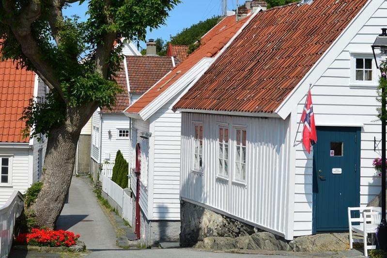 Haraldshaugen Camping bezoek Skudeneshavn