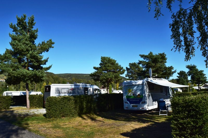 Hokksund Camping kampeerplaatsen