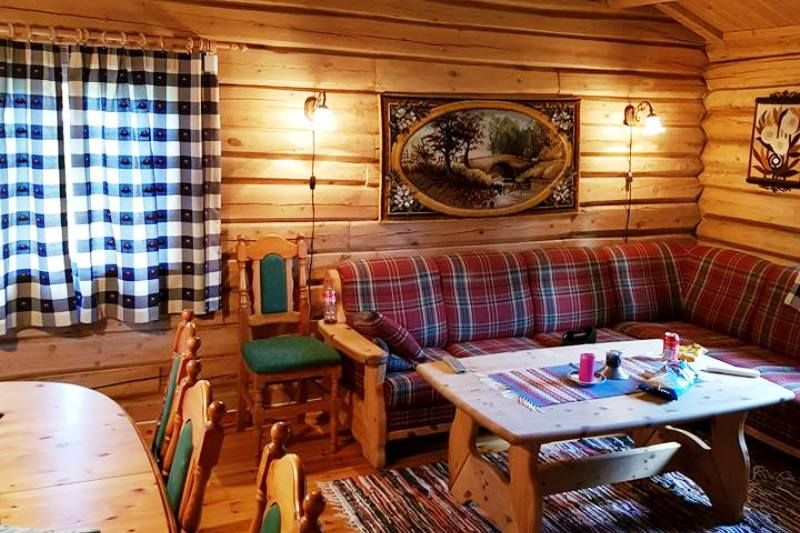 Holungsoy Camping Vaga hytter binnen
