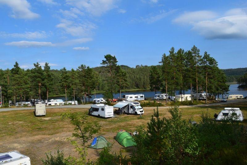 Kilefjorden Camping Kampeerplaatsen