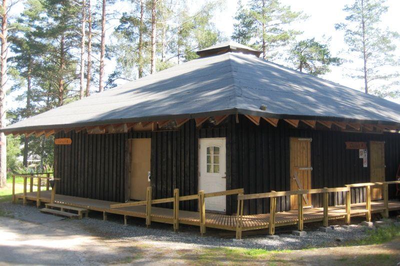 Kilefjorden Camping nieuw sanitair
