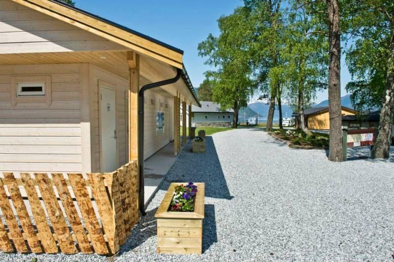 Kinsarvik Camping entree