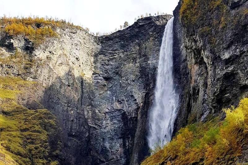 Kjornes Camping Sogndal wandelen en watervallen