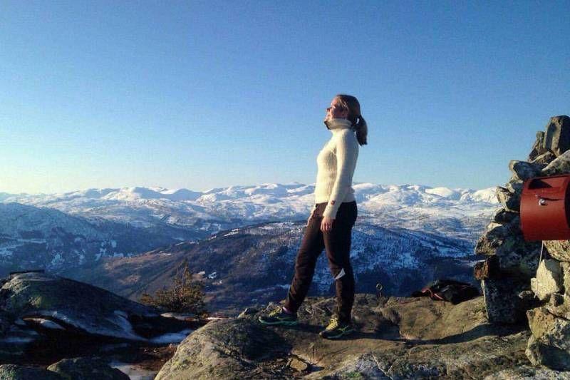 Kjornes Camping bergwandelen bij Sogndal