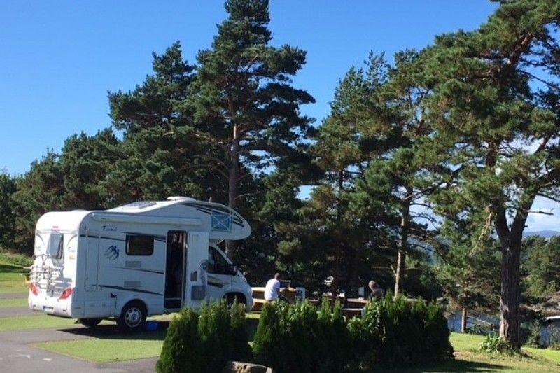 Kristiansand Feriesenter camperplaatsen