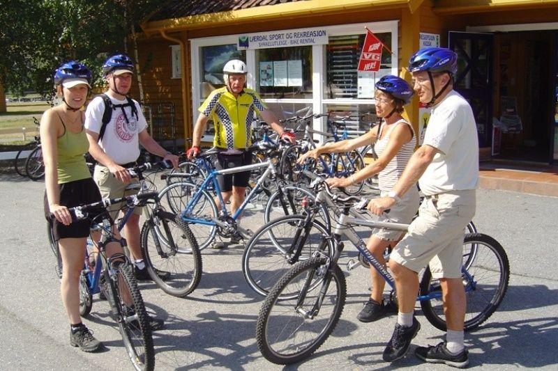Laerdal Ferie og Fritidspark fietsen