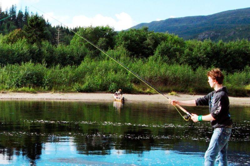 Langnes Camping Grong vissen