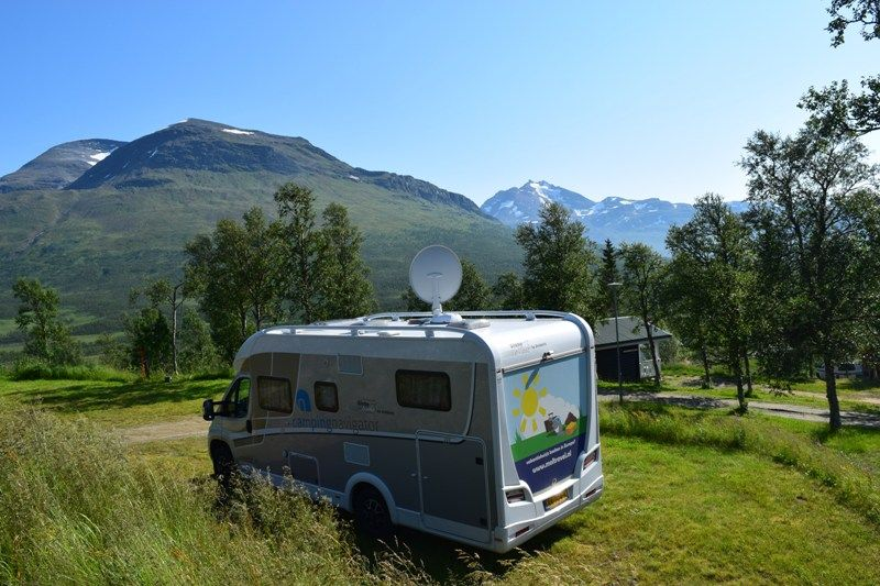 Lapphaugen Turiststasjon kampeerplaatsen