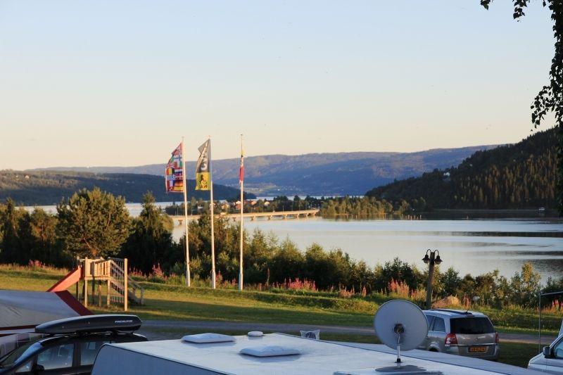Lillehammer Turistsenter uitzicht