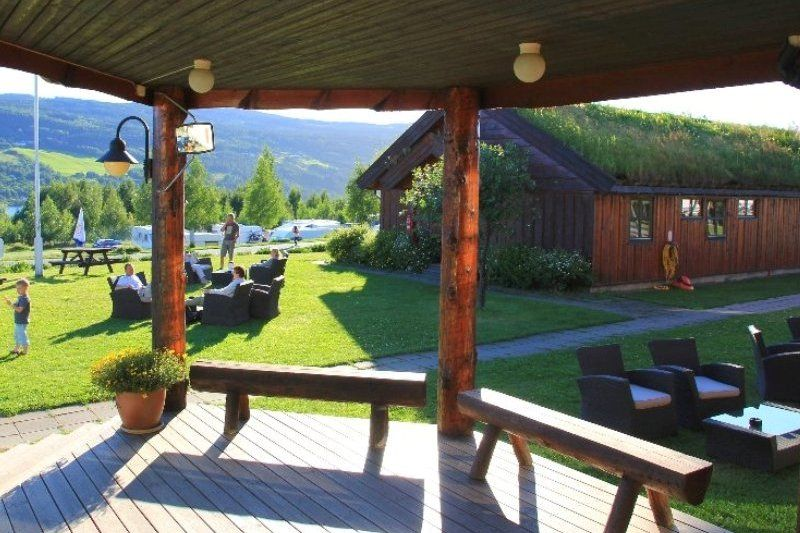 Lillehammer Turistsenter terras