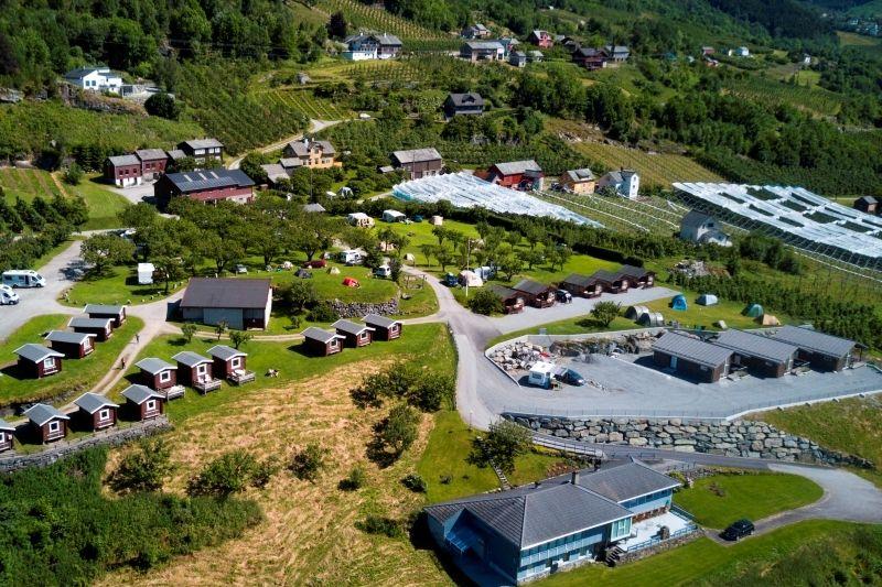 Lofthus Camping overzichtsfoto