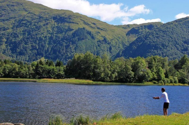 Lone Camping Bergen vissen