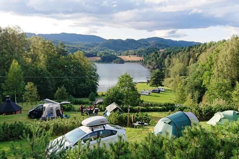 Lystang Camping ligging