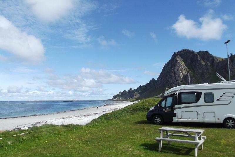Midnattsol Camping Bleik Kampeerplaatsen