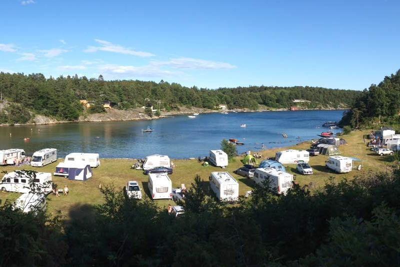 Morvigsanden Camping Grimstad ligging