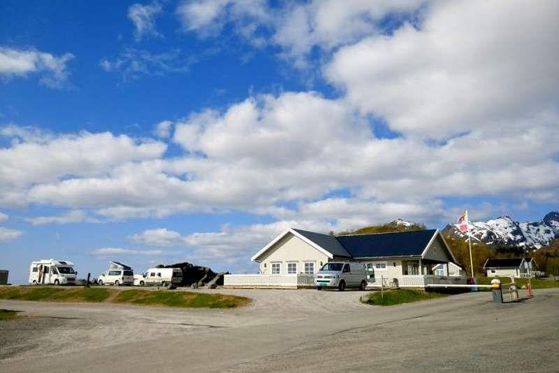 Moskenes Camping Lofoten voorzieningen