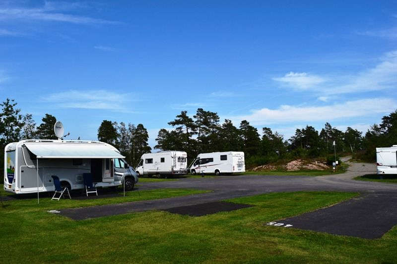 Moysand Familiecamping Grimstad kampeerplaatsen
