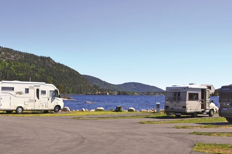 Neset Camping Byglandsfjord verharde plaatsen