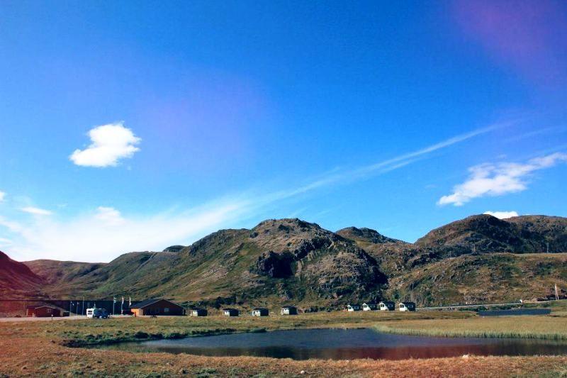 Ligging van Nordkapp Camping