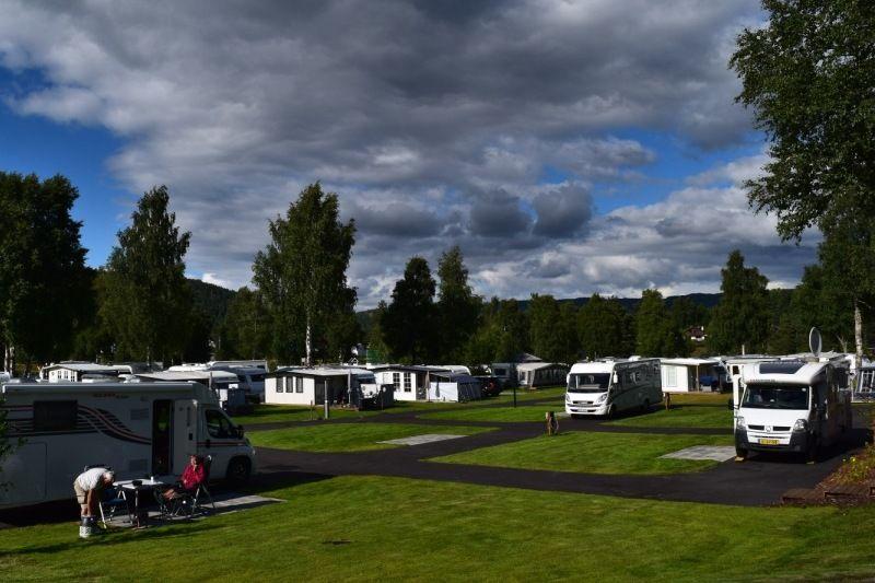 Odden Camping Evje verharde kampeerplaatsen