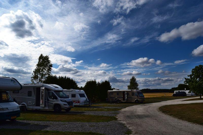 Olberg Camping verharde plaatsen voor campers
