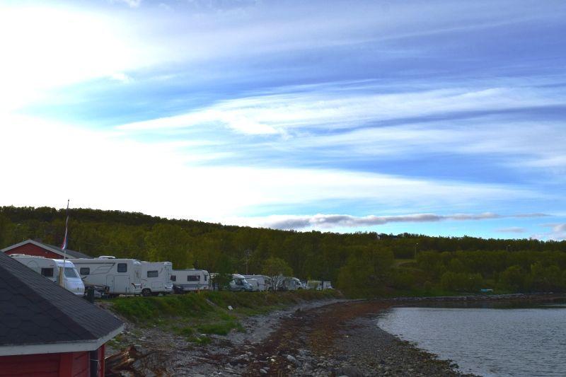 Olderfjord Turistsenter Kampeerplaatsen