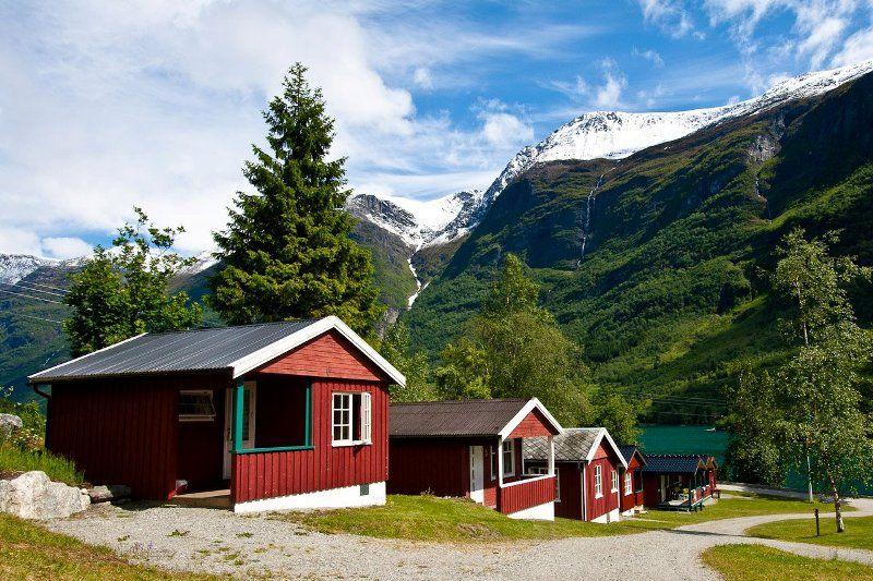 Oldevatn Camping hytter