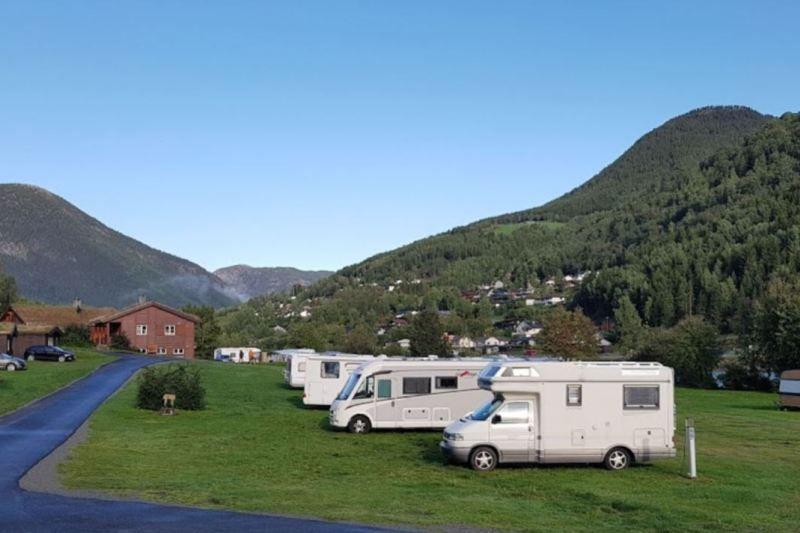 Otta Camping og Motell ligging