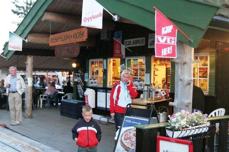 PlusCamp Aurdal Fjordcamping receptie en snackbar