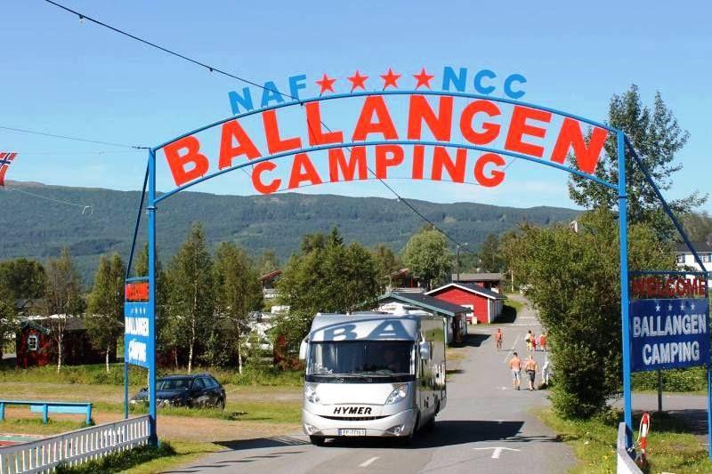 PlusCamp Ballangen Camping entree