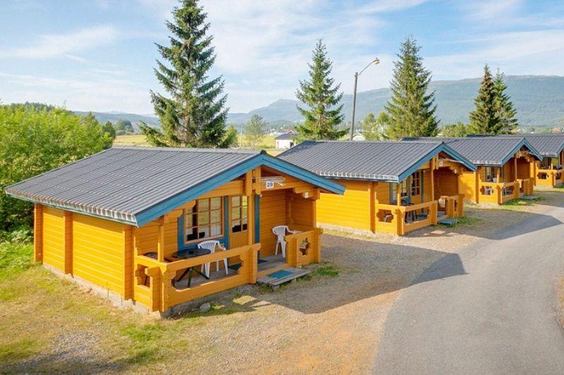 PlusCamp Ballangen Camping Hytter